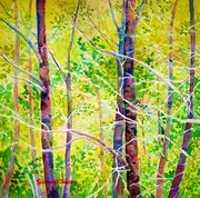 Abstract Trees III Spring into Summer