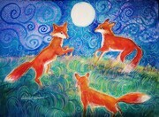 Foxes Dance for Joy
